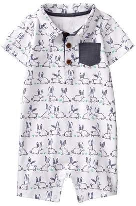 Gymboree Bunny Polo 1-Piece