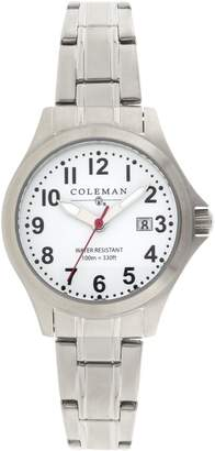 Coleman Women's COL7114 Dress Silver Band Watch