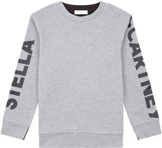 Stella McCartney Logo Long Sleeve Sweatshirt