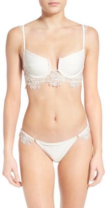 FOR LOVE & LEMONS Barcelona Lace Bikini Bottom $123 thestylecure.com