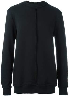 Damir Doma rib detail longsleeved sweatshirt