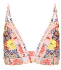 Zimmermann Lovelorn printed bikini top