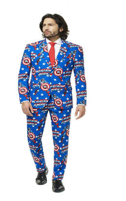 Opposuits Captain America Men's Suit