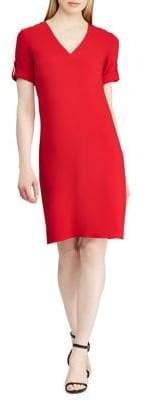Lauren Ralph Lauren V-Neck Shift Dress