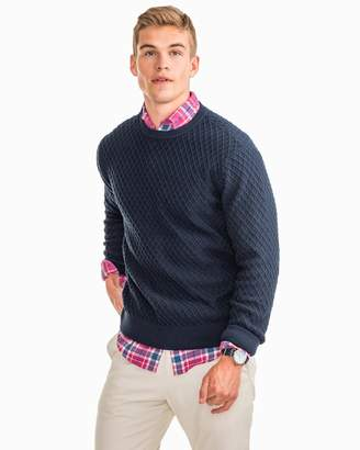 Southern Tide Province Diamond Jacquard Knit Sweater