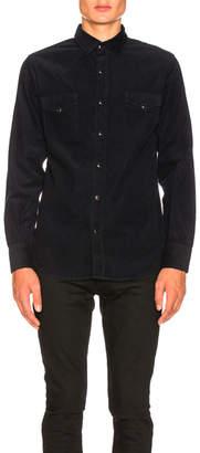 Saint Laurent Corduroy Western Shirt