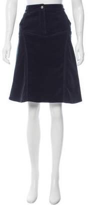 Stella McCartney Knee-Length Corduroy Skirt