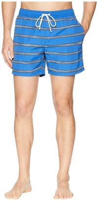Lacoste Nylon Striped 37cm Length Men's Swimwear
