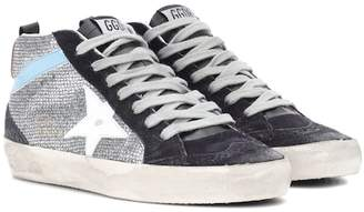 Golden Goose Mid Star suede sneakers