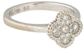 Van Cleef & Arpels Sweet Alhambra Ring