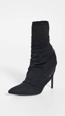 Unravel Project Tulle Broken Heel Boots