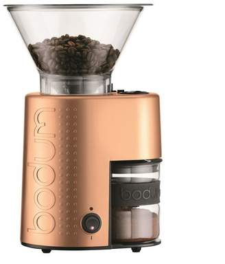 Bodum Burr Bistro Coffee Grinder - Copper