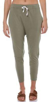 Elwood New Women's Womens Corey Pant Cotton Viscose Elastane Green