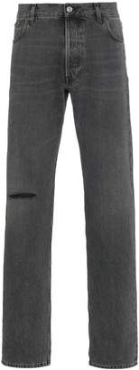 Balenciaga Black Knee Hole Jeans
