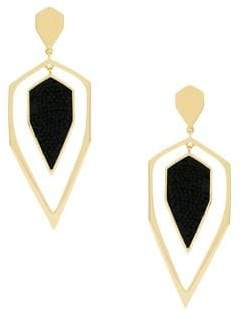 Jessica Simpson Crystal Dagger Dangle and Drop Earrings