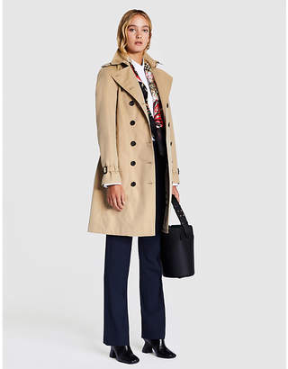 Burberry The Sandringham long cotton-gabardine trench coat