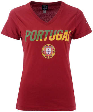 Fifth Sun Women Portugal National Team Gym Wedge World Cup T-Shirt