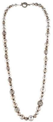 David Yurman DY Elements Bead Necklace