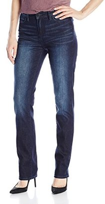 Calvin Klein Jeans Women's High Rise Straight $69.50 thestylecure.com