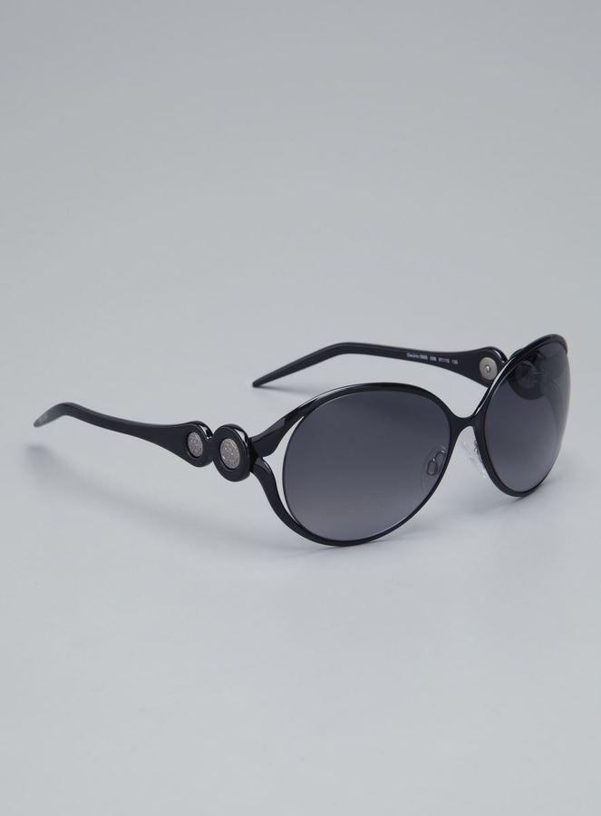 Roberto Cavalli Ladies Plastic & Metal Frame Sunglasses