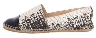 Loeffler Randall Python Espadrille Flats