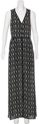 A.L.C. V-Neck Maxi Dress