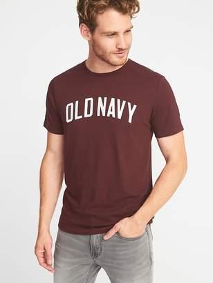 Old Navy Logo-Graphic Crew-Neck Tee for Men