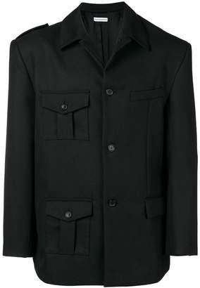 Gosha Rubchinskiy asymmetric jacket