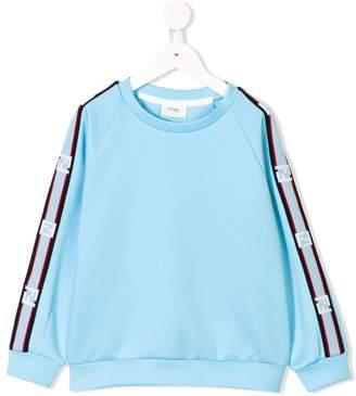 Fendi logo sleeve sweatshirt