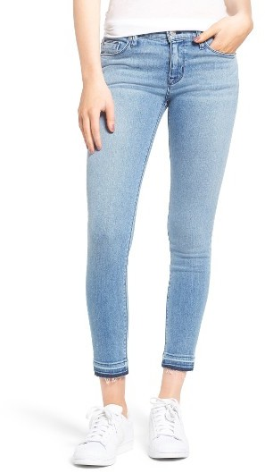 Women's Hudson Krista Released Hem Ankle Super Skinny Jeans
