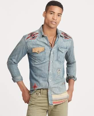 Ralph Lauren Embroidered Western Shirt