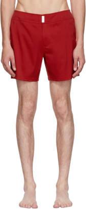 Vilebrequin Red Merise Swim Shorts