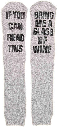 Mix No. 6 Bring Wine Slipper Socks - Women's