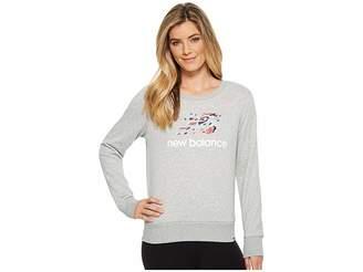 New Balance Essentials Shoe Crew Women's Sweatshirt
