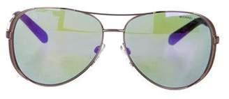 Michael Kors Metal Aviator Sunglasses
