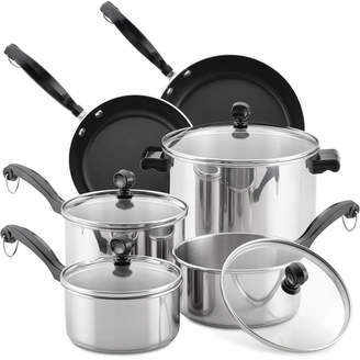 Farberware Classic Series 12-Pc. Stainless Steel Cookware Set