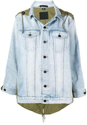 Alexander Wang Daze Mix denim jacket
