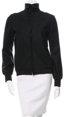 Yohji Yamamoto Wool Lightweight Jacket w/ Tags $265 thestylecure.com