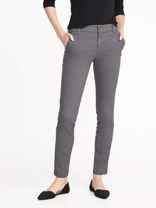Old Navy Mid-Rise Skinny Everyday Khakis for Women