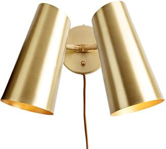 Rejuvenation Cypress Double Sconce Plug-In