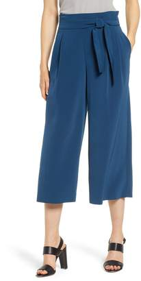 Anne Klein Tie Front Culottes