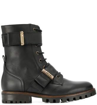 Anna Baiguera lace-up combat boots