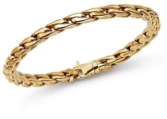 Bloomingdale's Polished Curb Link Bracelet in 14K Yellow Gold - 100% Exclusive
