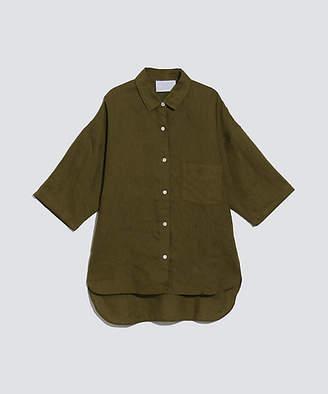 BPQC (ビーピーキューシー) - [BPQC] フレンチリネン半袖シャツ