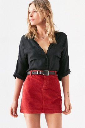 BDG Sybale Corduroy Mini Skirt $49 thestylecure.com