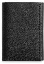 Shinola Tri-Fold Leather Wallet