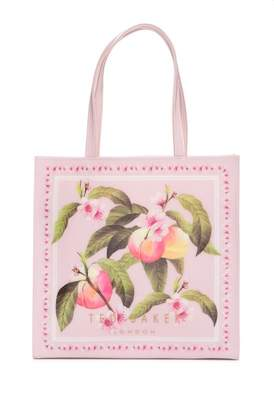 Ted Baker Peach Blossom Large Icon Tote Bag