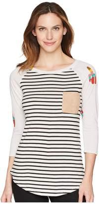 Wrangler Long Sleeve Knit Square Pocket Women's Clothing