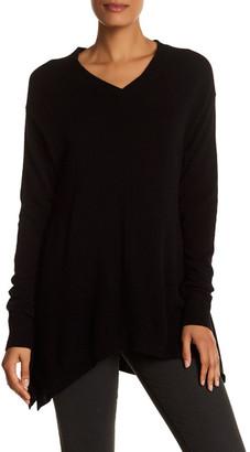 Loma Grace Cashmere V-Neck Sweater $260 thestylecure.com