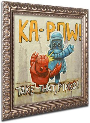 Pinko (ピンコ) - Craig Snodgrass 'Take That Pinko' Ornate Framed Art